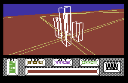 Mercenary - The Second City C64 12
