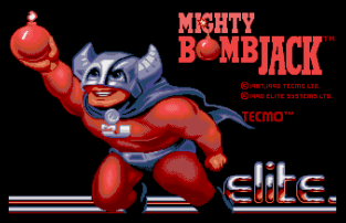 Mighty Bomb Jack Atari ST 01
