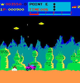 Moon Patrol Arcade 09