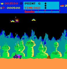 Moon Patrol Arcade 11