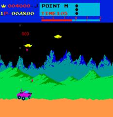 Moon Patrol Arcade 21