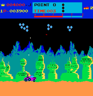 Moon Patrol Arcade 23