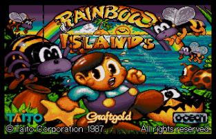 Rainbow Islands Atari ST 01