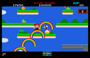 Rainbow Islands Atari ST 12