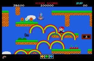 Rainbow Islands Atari ST 20