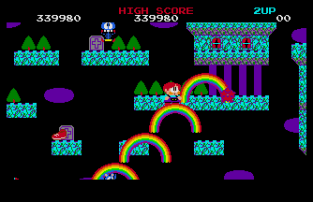 Rainbow Islands Atari ST 45