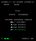 Space Invaders Arcade 01