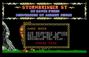 Stormbringer Atari ST 09