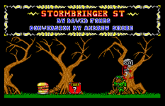 Stormbringer Atari ST 10