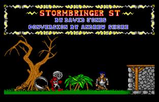 Stormbringer Atari ST 20