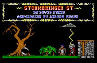 Stormbringer Atari ST 23