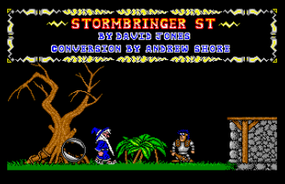 Stormbringer Atari ST 34