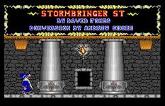 Stormbringer Atari ST 38
