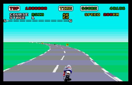 Super Hang-On Atari ST 09