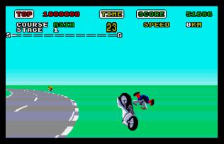 Super Hang-On Atari ST 10
