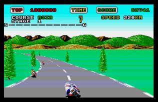 Super Hang-On Atari ST 11