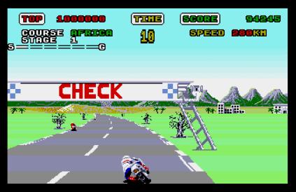 Super Hang-On Atari ST 12