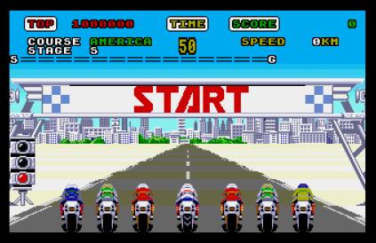 Super Hang-On Atari ST 20