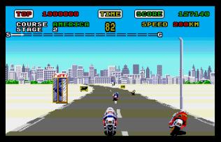 Super Hang-On Atari ST 22