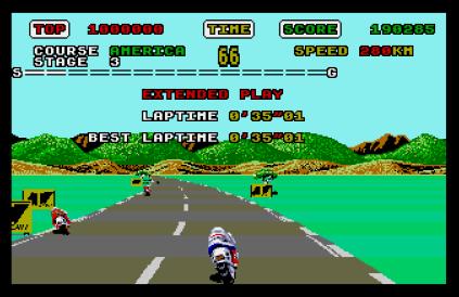 Super Hang-On Atari ST 23