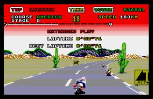 Super Hang-On Atari ST 32