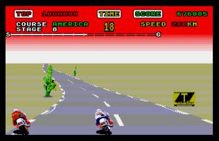 Super Hang-On Atari ST 33
