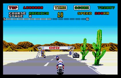Super Hang-On Atari ST 34