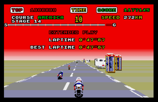 Super Hang-On Atari ST 45
