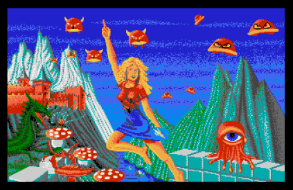 The Great Giana Sisters Atari ST 01