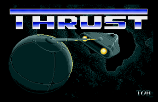Thrust Atari ST 01