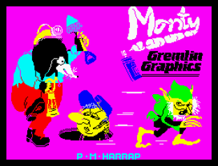 Wanted Monty Mole ZX Spectrum 01