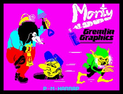 Wanted Monty Mole ZX Spectrum 01