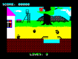 Wanted Monty Mole ZX Spectrum 03