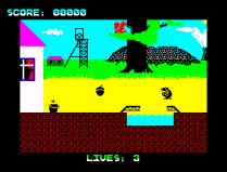 Wanted Monty Mole ZX Spectrum 03