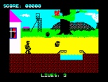 Wanted Monty Mole ZX Spectrum 04