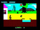 Wanted Monty Mole ZX Spectrum 04