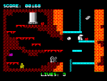 Wanted Monty Mole ZX Spectrum 07