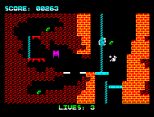 Wanted Monty Mole ZX Spectrum 08