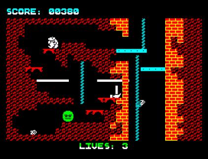 Wanted Monty Mole ZX Spectrum 09