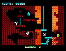 Wanted Monty Mole ZX Spectrum 10