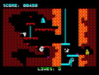 Wanted Monty Mole ZX Spectrum 10