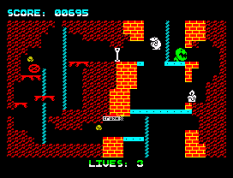Wanted Monty Mole ZX Spectrum 11