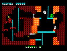 Wanted Monty Mole ZX Spectrum 11