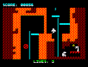 Wanted Monty Mole ZX Spectrum 12