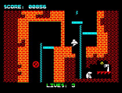 Wanted Monty Mole ZX Spectrum 12