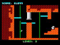 Wanted Monty Mole ZX Spectrum 14