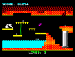 Wanted Monty Mole ZX Spectrum 17