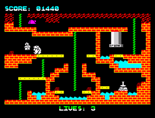 Wanted Monty Mole ZX Spectrum 20