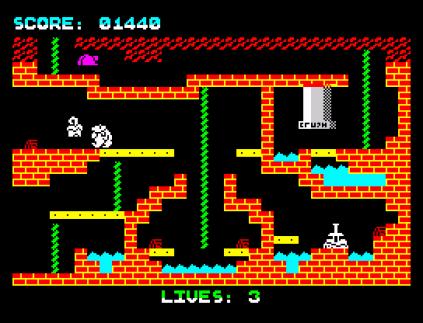 Wanted Monty Mole ZX Spectrum 20