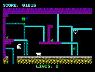 Wanted Monty Mole ZX Spectrum 21